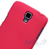 Вид 2 - Чехол Nillkin Super Frosted Shield Samsung Galaxy S4 Active i9295 Red