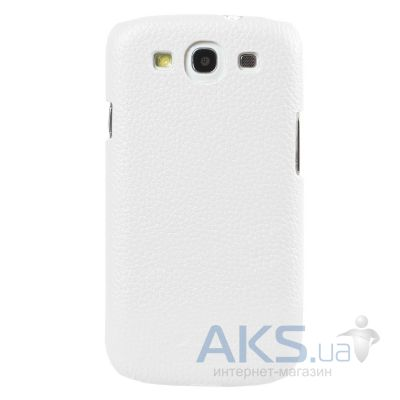 Чехол Melkco Snap leather cover for Samsung S7562 Galaxy S DuoS White (SS7562LOLT1WELC)