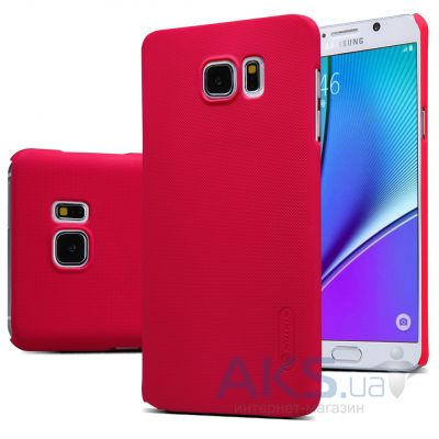 Чехол Nillkin Super Frosted Shield Samsung N920 Note 5 Red
