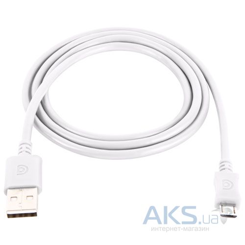 Кабель USB Griffin micro USB cable 3м White