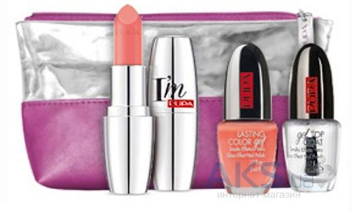 Помада Pupa Nails & Lips Kit I'm Набор №04