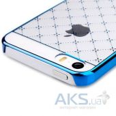 Вид 2 - Чехол Vouni Glimmer Star Apple iPhone 5, iPhone 5S, iPhone SE Blue