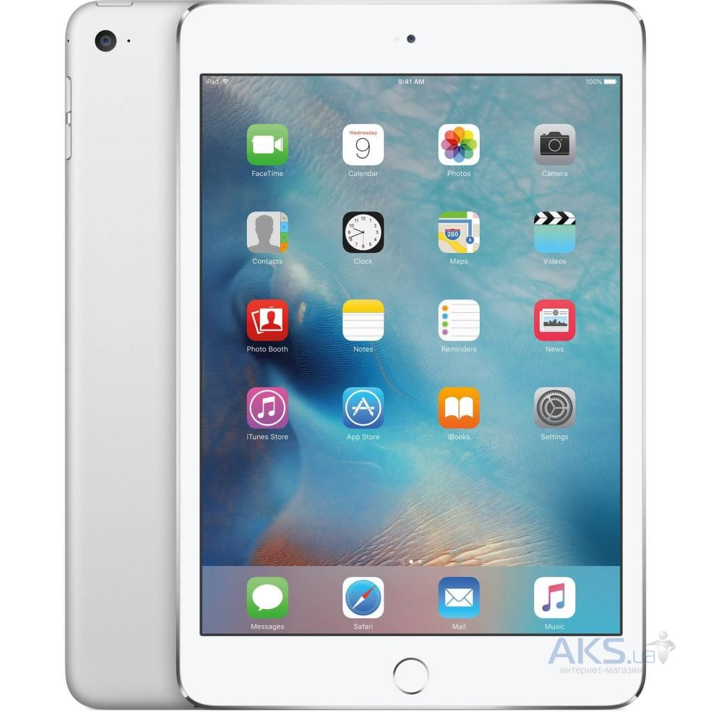 Планшет Apple iPad Air 2 Wi-Fi 32GB Silver (MNV62)