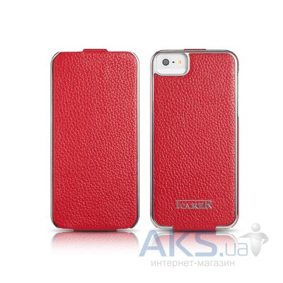 Чехол iCarer Electroplating Apple iPhone 5, iPhone 5S, iPhone 5SE Red
