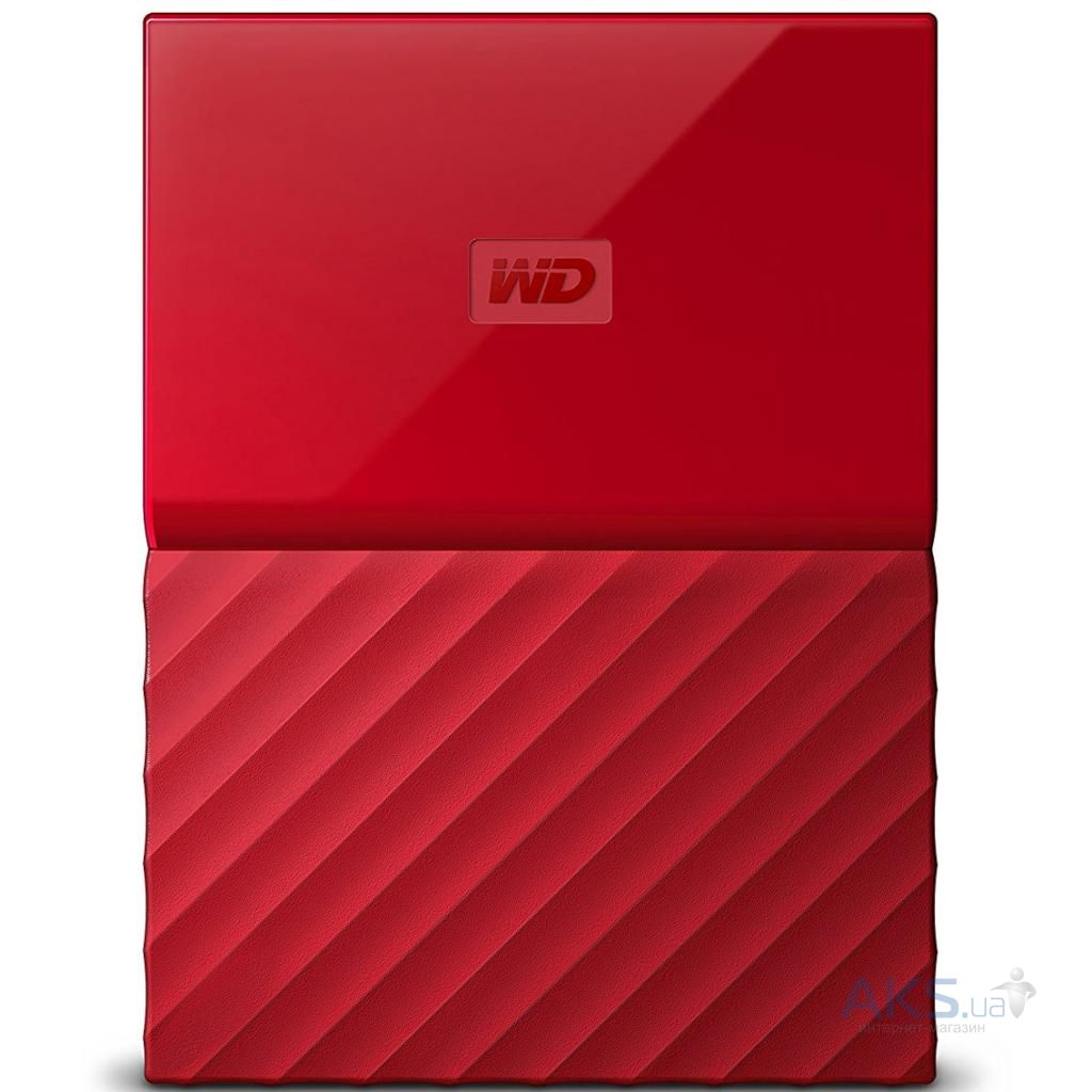 Жесткий диск внешний Western Digital 2.5'' 3TB (WDBYFT0030BRD-WESN)