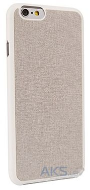 Чехол Ozaki O!coat-0.3+Canvas for iPhone 6/6S Grey (OC557GE)