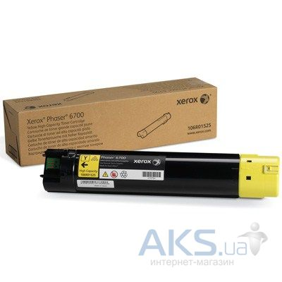 Картридж Xerox PH6700 (Max) (106R01525) Yellow