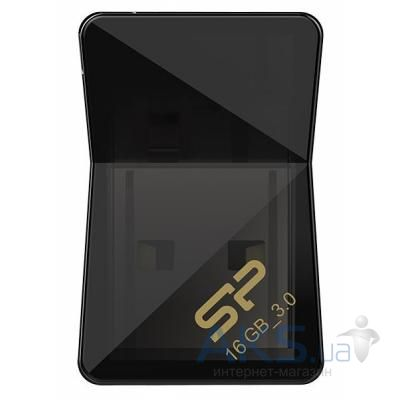 Флешка Silicon Power 16Gb Jewel J08 Black USB 3.0 (SP016GBUF3J08V1K)
