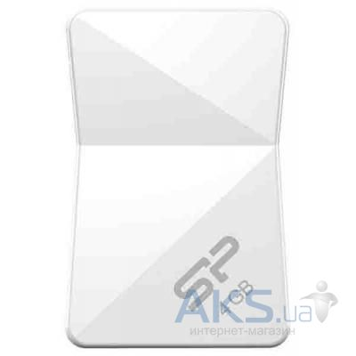 Флешка Silicon Power 4Gb Touch T08 White USB 2.0 (SP004GBUF2T08V1W)