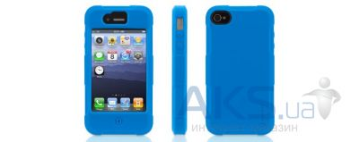 Вид 2 - Чехол Griffin Protector Case Apple iPhone 4, iPhone 4S Blue (GB02573)