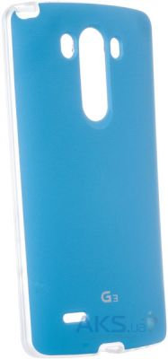 Чехол VOIA Jell Skin for LG Optimus G3 (D850) Blue