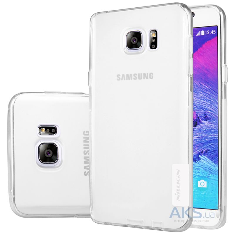 Чехол Nillkin Nature Series Samsung N920 Galaxy Note 5 Transparent