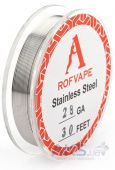 Rofvape Проволка для спирали STAINLESS STEEL WIRE 10M (28AGW/0.32mm)