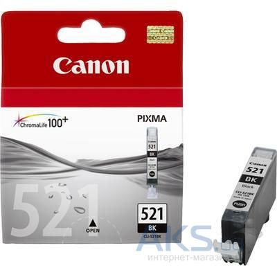 Картридж Canon CLI-521BK MP540/630 (2933B001/2933B004/2933B005) Black