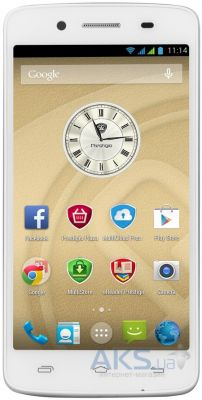 Сенсор (тачскрин) для Prestigio MultiPhone 5507 Duo Original White