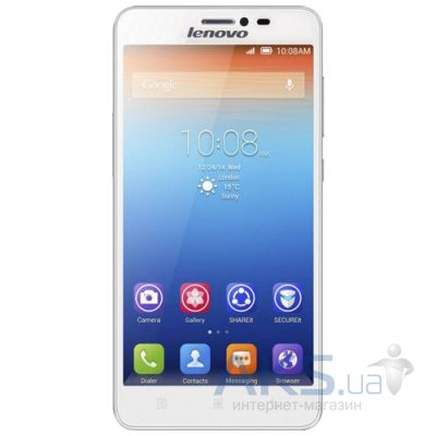 Сенсор (тачскрин) для Lenovo A916 Original White