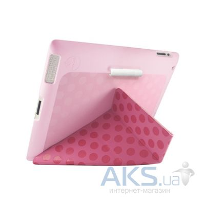 Чехол для планшета Ozaki Slim-Y+ case with stylus for iPad 2/3/4 pink post modernism