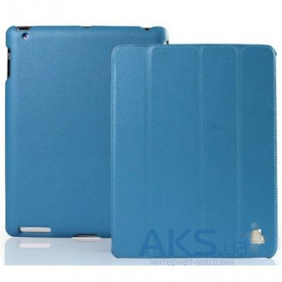 Чехол для планшета JustCase Leather Case For iPad 2/3/4 Blue (SS0008)