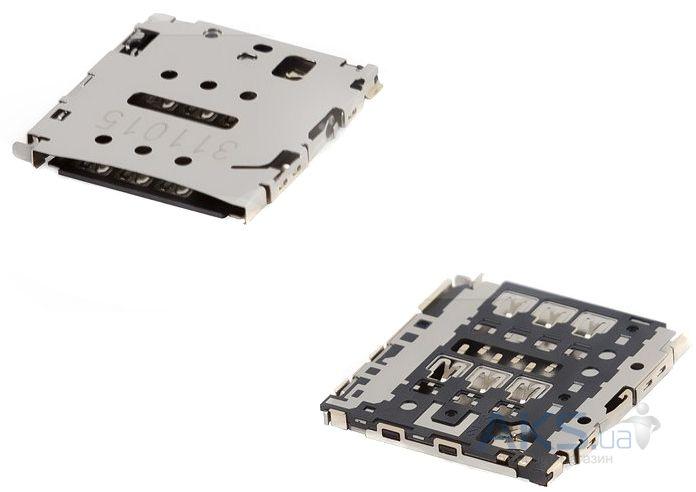 (Коннектор) Разъем SIM-карты Huawei Ascend P6-U06