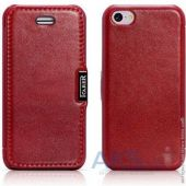 Чехол iCarer Luxury Series Flip Case for iPhone 5C Red (RIP521RE)