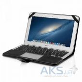 Вид 2 - Чехол Decoded Leather Slim Cover for MacBook Air 13 Black (D4MA13SC1BK)
