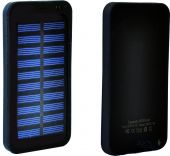 Внешний аккумулятор power bank MANGO Solar SLIM 1USB 6000 mAh Black
