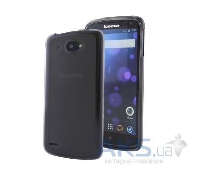 Чехол Original Silicon Case Matte LG Optimus Y70 Spirit H422 Black