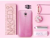 Вид 2 - Чехол Mofi Leather Series Meizu M2 Note Pink