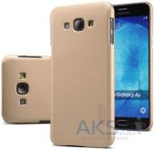 Чехол Nillkin Super Frosted Shield Samsung Galaxy A8 A8000 Gold