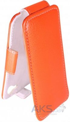 Чехол Sirius flip case Alcatel One Touch 4015d POP C1 Orange
