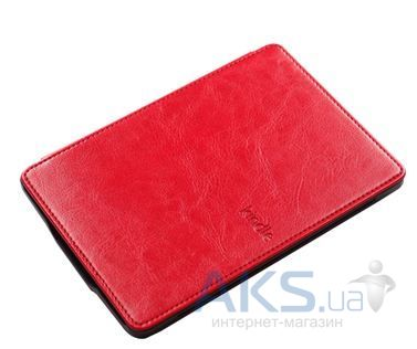 Обложка (чехол) Amazon Kindle Paperwhite Leather Cover Red