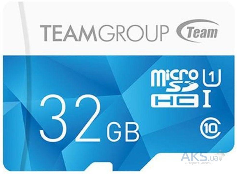 Карта памяти Team 32GB microSD class10 UHS-I (TCUSDH32GUHS02)