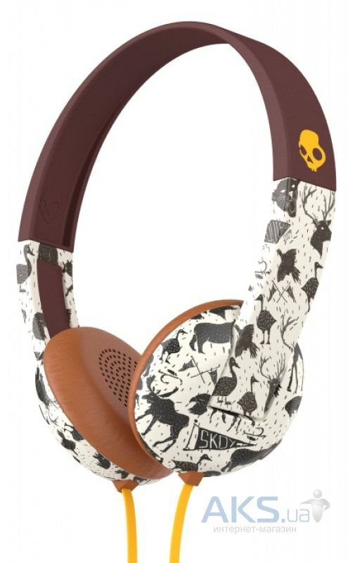 Наушники (гарнитура) Skullcandy UPROAR Explore/Animal/Mustard (S5URHT-452)