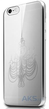 Чехол ITSkins KROM for iPhone 6/6S Silver (APH6-NKROM-SLR1)