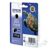 Картридж Epson St Photo R3000  (C13T15784010) Matte Black
