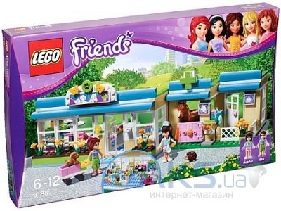 Конструктор LEGO Friends Ветклиника в Хартлейке (3188)
