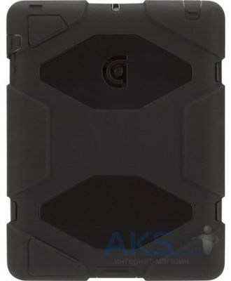 Чехол для планшета Griffin Survivor military-duty case and stand for iPad Retina Gray\Black