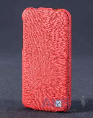 Чехол Hoco Lizard flip leather case for iPhone 5C Red (HI-L041)