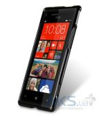 Вид 3 - Чехол Melkco Poly Jacket TPU cover for HTC 8X Accord C620e Black (O2WP8XTULT2BKMT)