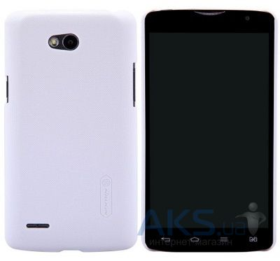 Чехол Nillkin Super Frosted Shield LG L80/D380 White