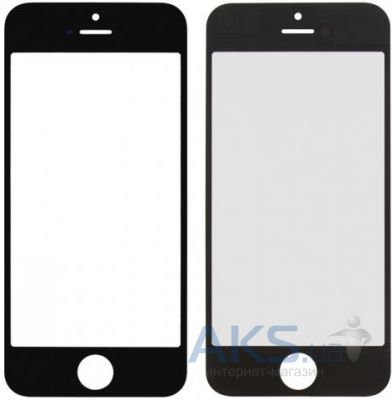 Стекло для Apple iPhone 5, iPhone 5C, iPhone 5S Original Black