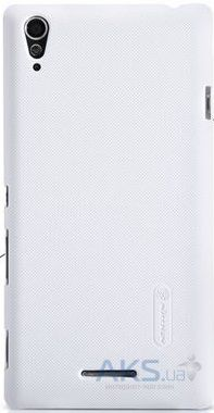 Чехол Nillkin Super Frosted Shield Sony Xperia T3 D5102 White