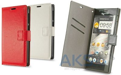 Чехол Book Cover Fly IQ452 Ego Vision 1 White