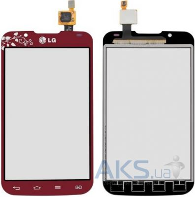 Сенсор (тачскрин) для LG Optimus L7 2 P715 Original Red La Fleur