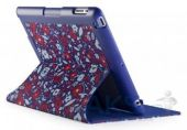 Чехол для планшета Speck iPad 3/4 FitFolio BitsyFloral Blue/Red (SPK-A1191)