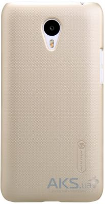 Чехол Nillkin Super Frosted Shield Meizu M1 note Gold