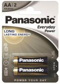 Батарейка Panasonic AA (R6) Everyday Power 2шт (LR6REE/2BR)