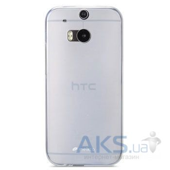 Чехол Melkco Poly Jacket TPU case for HTC One M8 Transparent