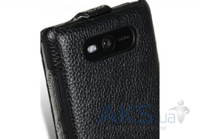 Вид 7 - Чехол Melkco Leather Case Jacka for Nokia Lumia 820 Black (NKLU82LCJT1BKLC)
