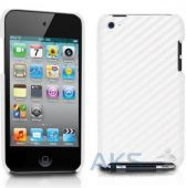 Чехoл Tunewear Carbon look White for iPod touch 4G